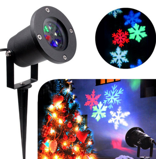 Лазерный проектор Star Shower COLOR Snowflake № WP2
