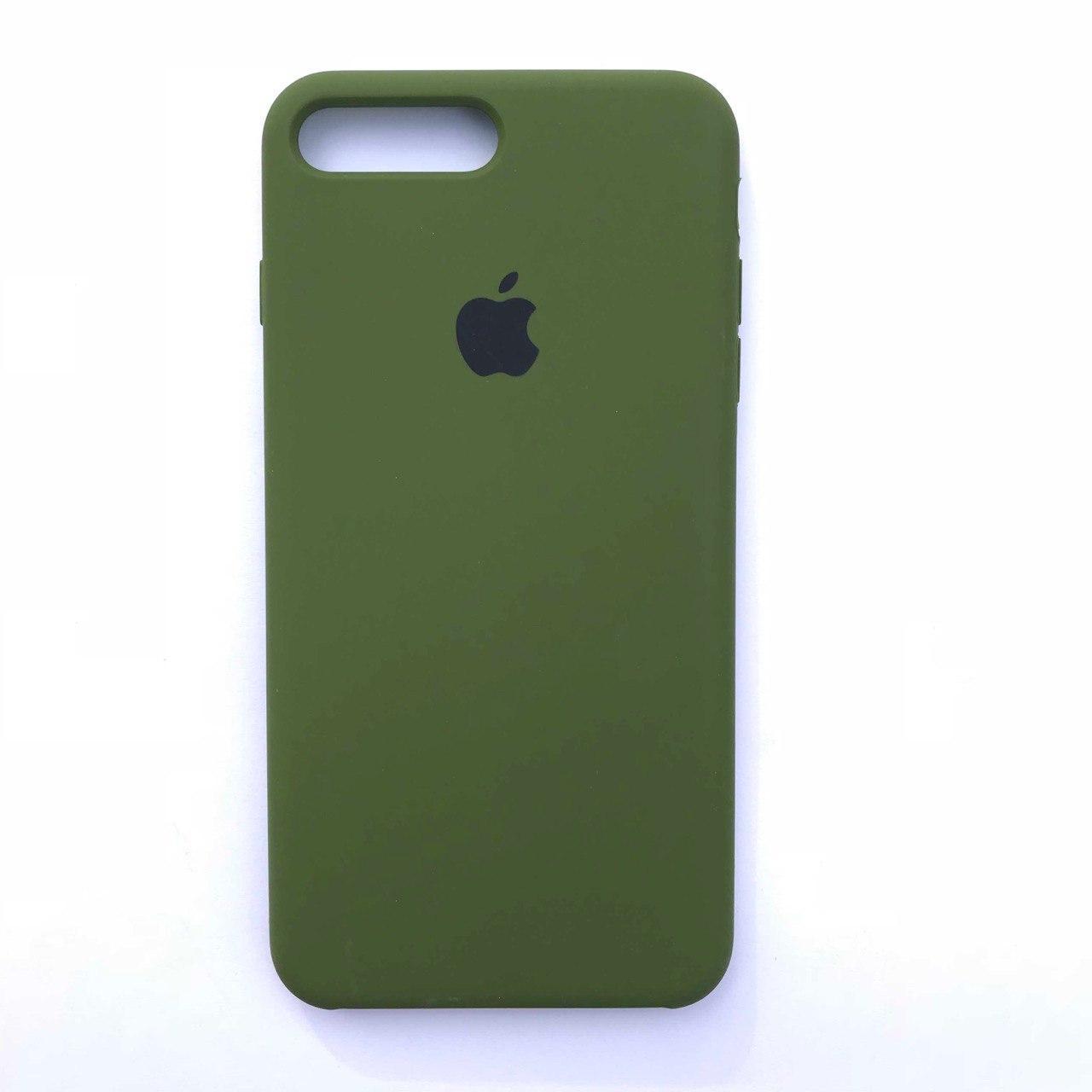 Чехол-накладка Silicone Case для Apple iPhone 7 Plus iPhone 8 Plus Pinery Green
