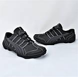 Кожаные Мокасины Мужские Кроссовки Черные Туфли (размеры: 40,41,42,43,44,45), фото 8