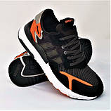 Кроссовки Мужские Adidas Jogger Чёрные Адидас (размеры: 41,42,43,44,45,46) Видео Обзор, фото 3