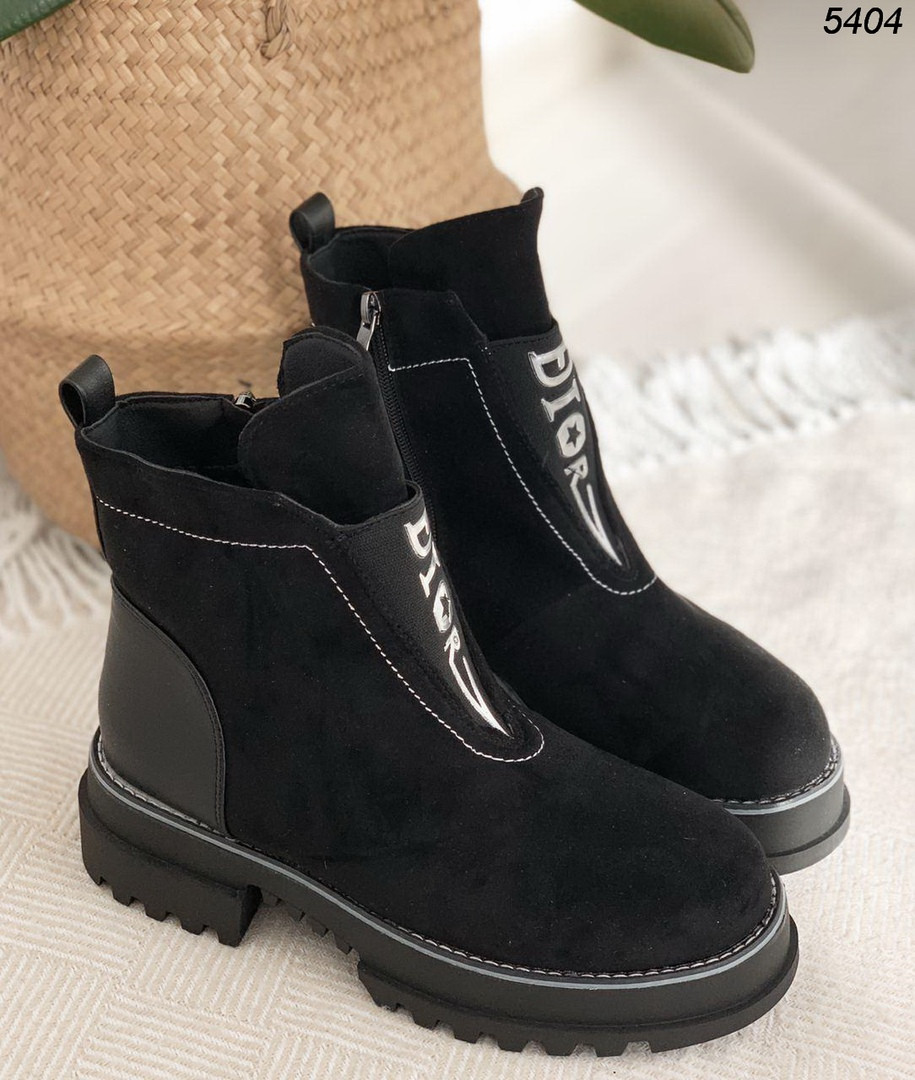 Ботинки на небольшом каблуке 5404 (ВБ)