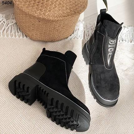 Ботинки на небольшом каблуке 5404 (ВБ), фото 2