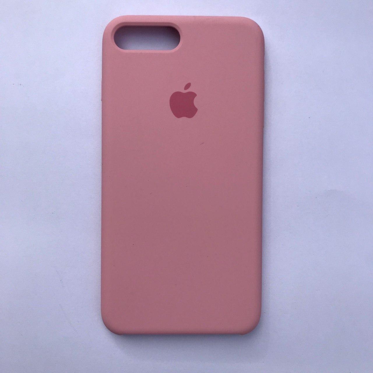 Чехол Silicone Case для Apple iPhone 7 Plus, 8 Plus Pink