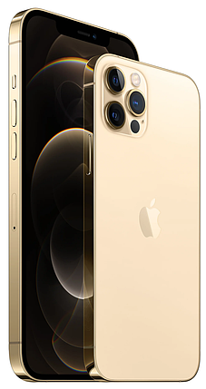 Смартфон Apple iPhone 12 Pro Max 512GB Gold (MGDK3), фото 2