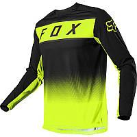 Мото джерси FOX LEGION JERSEY [Flo Yellow], XL, фото 1
