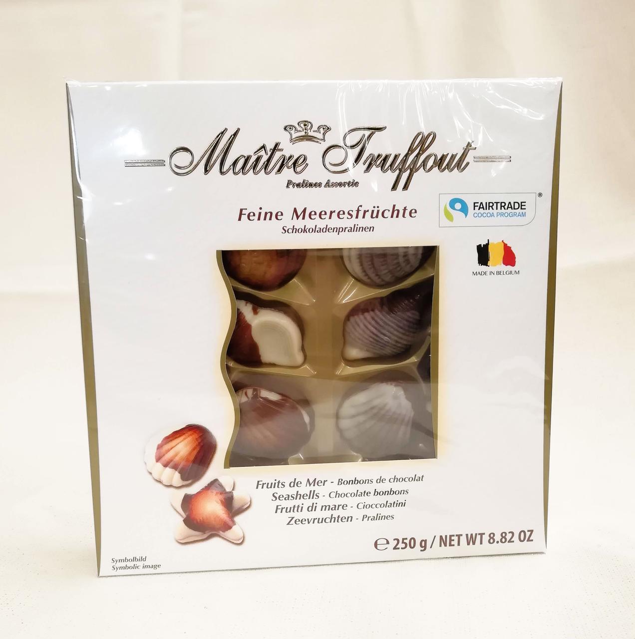 Шоколадные конфеты Maitre Truffout Feine Meeresfrüchte white