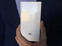 Power bank Xiaomi 20000mAh 2 USB портативная батарея, повербанк, пауэр Сяоми БЕЛЫЙ