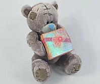 Мишка Тедди, мягкая игрушка, с коробкой для подарка, мягкий, плюшевый