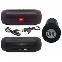 Портативная колонка JBL Charge 2+ Большая! блютуз (bluetooth) + радио + микрофон + PowerBank ЧЕРНАЯ