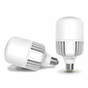 Лампа светодиодная промышленная EUROLAMP 100W E40 6500K (LED-HP-100406), фото 3