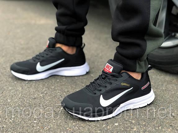 Кроссовки мужские черные Nike Shield Термо, фото 2