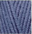 Турецкая пряжа Alize Lanagold Fine для ручного вязания полушерсть джинс меланж №203