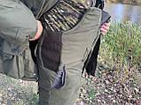 """Зимний костюм для рыбалки и охоты """"Mavens Тайга"""" Олива, одежда, камуфляж, размеры 44-66, фото 9"""