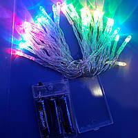 Гірлянда 3R6 батарейки RGB