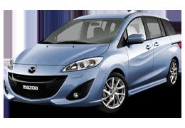 Багажник на крышу для Mazda (Мазда) 5 II/III 2005-2016