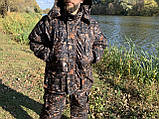 """Зимний костюм для рыбалки и охоты """"Mavens Зубр"""" Дуб темный, одежда, камуфляж, размеры 44-66, фото 3"""