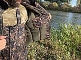 """Зимний костюм для рыбалки и охоты """"Mavens Зубр"""" Дуб темный, одежда, камуфляж, размеры 44-66, фото 10"""
