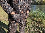 """Зимний костюм для рыбалки и охоты """"Mavens Зубр"""" Дуб темный, одежда, камуфляж, размеры 44-66, фото 8"""