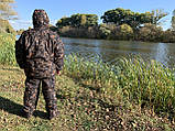 """Зимний костюм для рыбалки и охоты """"Mavens Зубр"""" Дуб темный, одежда, камуфляж, размеры 44-66, фото 2"""