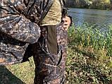 """Зимний костюм для рыбалки и охоты """"Mavens Зубр"""" Дуб темный, одежда, камуфляж, размеры 44-66, фото 9"""