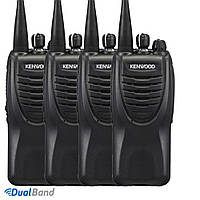 Комплект из четырех Раций Kenwood TK-2260 UHF