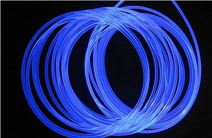 Оптоволокно концевого свечения, нить 2мм, оптическое волокно