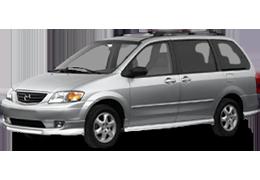 Багажник на крышу для Mazda (Мазда) MPV II 1999-2006