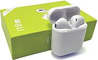 Беспроводные белые сенсорные Bluetooth наушники I18 Airpods