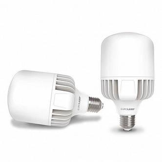 Лампа светодиодная промышленная EUROLAMP 70W E40 6500K (LED-HP-70406), фото 2