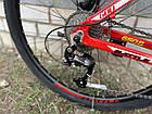 """Велосипед  BATTLE МТВ 27,5-17"""" THUNDER, красный, фото 2"""