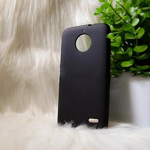 Чехол Motorola E4 черный