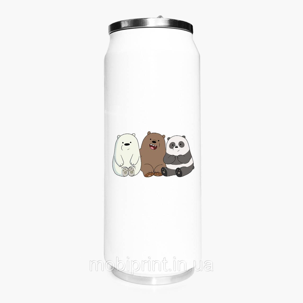 Термобанка Вся правда про ведмедів We Bare Bears 500 мл (31091-1774-1) термокружка з нержавіючої сталі