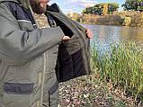 """Зимний костюм для рыбалки и охоты """"Mavens Аляска"""" Зеленый, одежда, камуфляж, размеры 48-62, фото 10"""