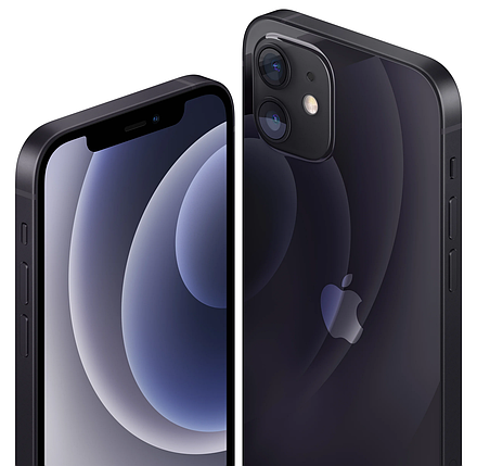 Смартфон Apple iPhone 12 Dual Sim 64GB Black (MGGM3), фото 2