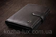 Мужской большой кошелек из кожи натуральной, фото 2