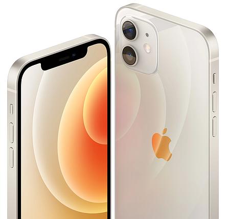 Смартфон Apple iPhone 12 Dual Sim 64GB White (MGGN3), фото 2