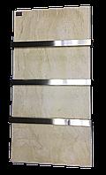Керамический полотенцесушитель с терморегулятором LIFEX ПСК600 (бежевый мрамор), фото 1
