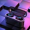 HBQ Q32 Mini TWS ПоверБанк + Наушники беспроводные. Супер басс! Цвет Черные - Фото