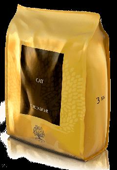 Сухой корм ESSENTIAL JAGUAR CAT FOOD для котов 95% мясных ингредиентов, 1,5 кг