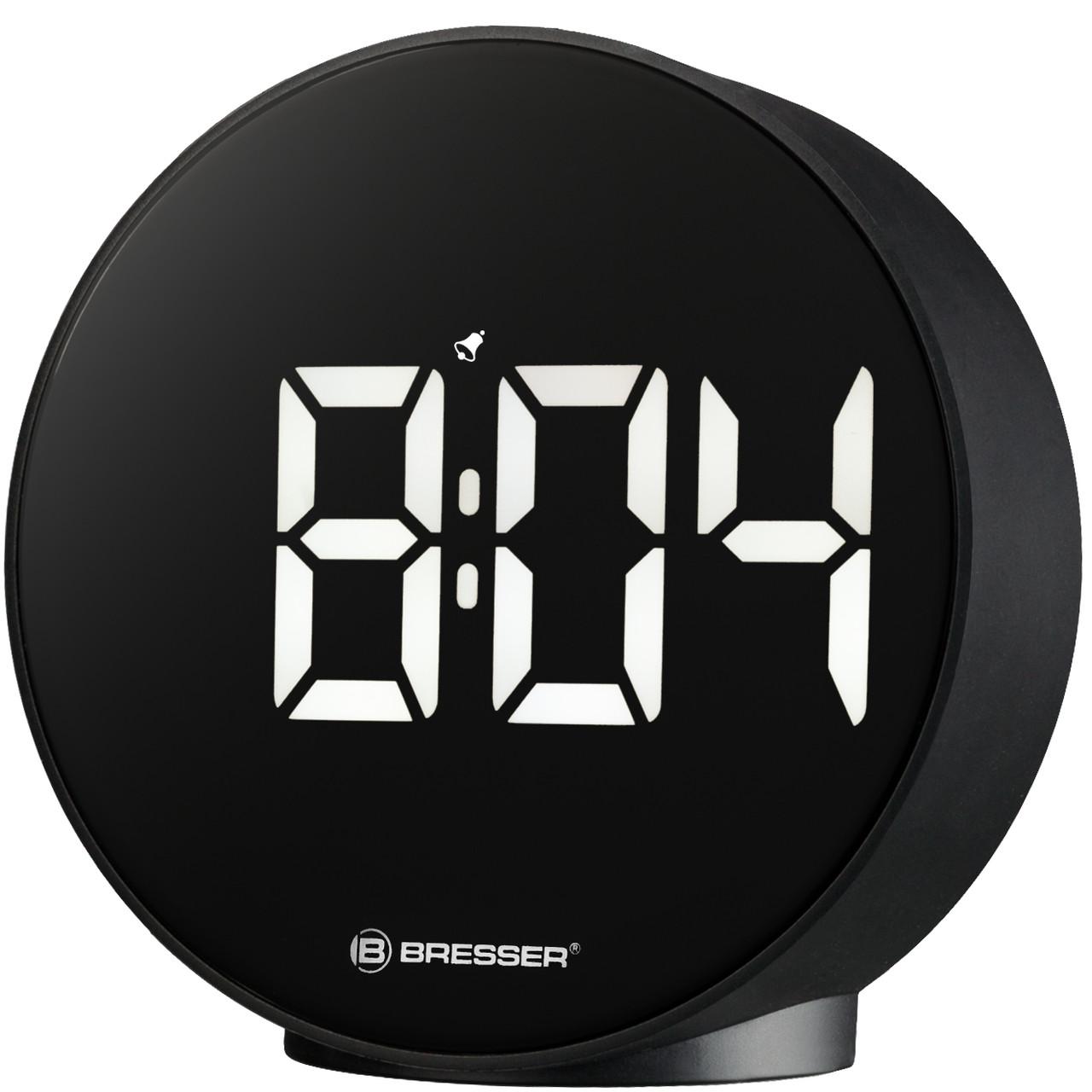 Настольные цифровые часы Bresser MyTime Echo FXR Black