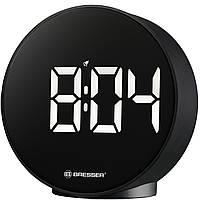 Настольные цифровые часы Bresser MyTime Echo FXR Black, фото 1