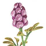 Ганутель. Квіти з ниток і дроту, фото 8