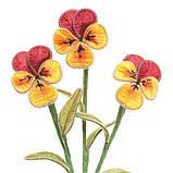 Ганутель. Квіти з ниток і дроту, фото 9