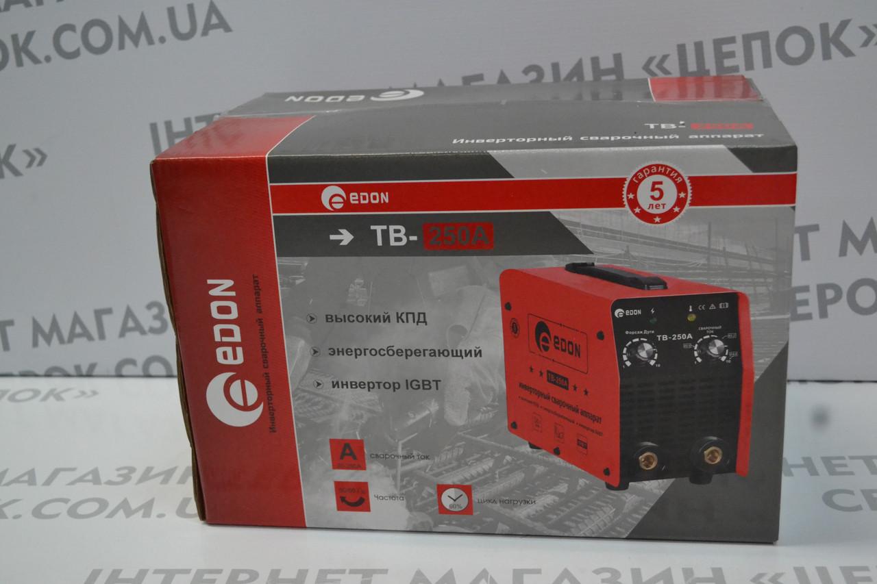 Зварювальний інвертор EDON TB-250A
