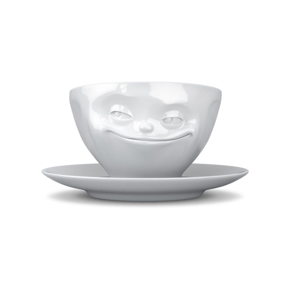 Чашка с блюдцем для кофе Tassen Хитрая улыбка 200 мл TASS14101/TA