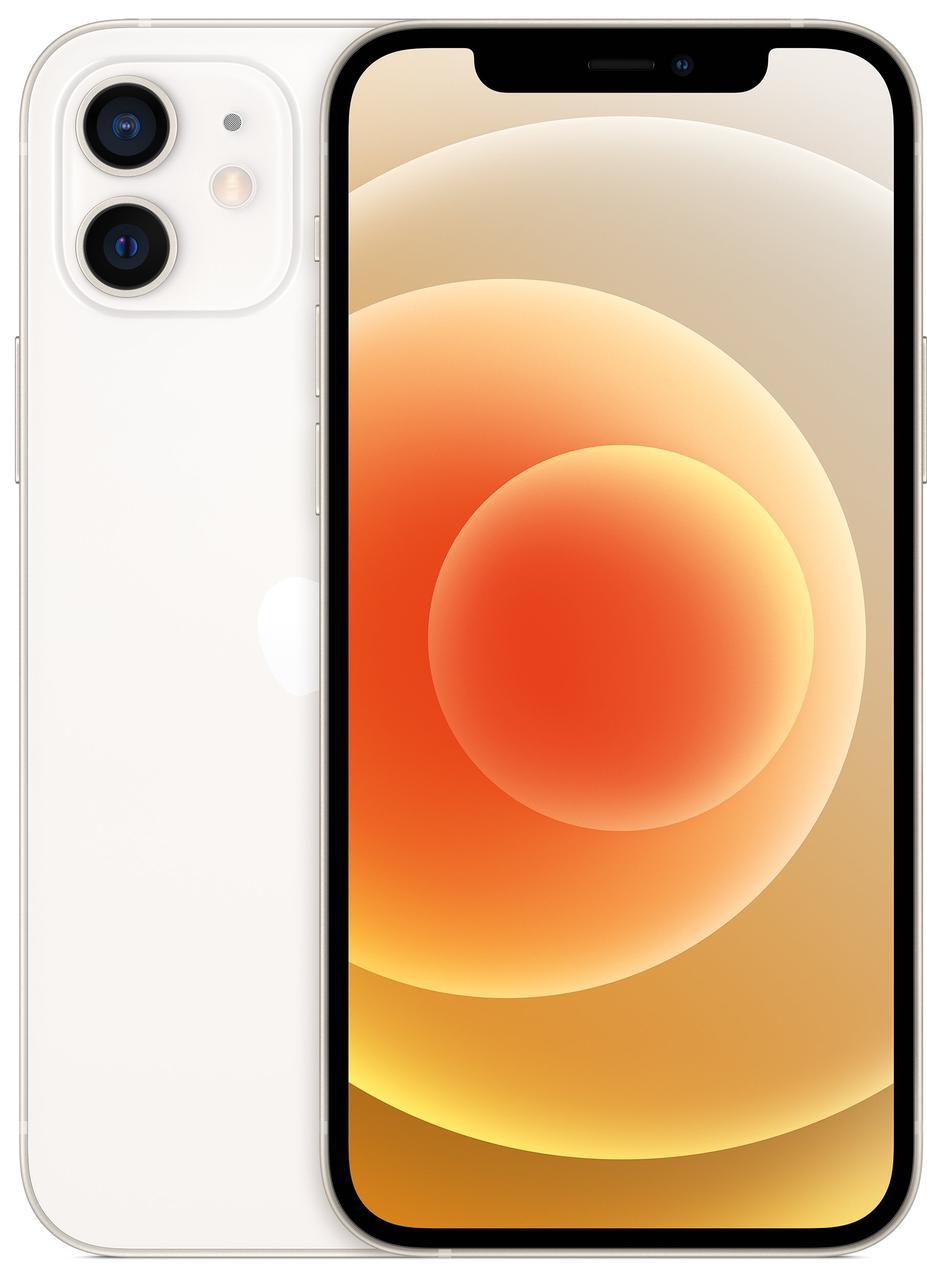 Смартфон Apple iPhone 12 Dual Sim 128GB White (MGGV3)