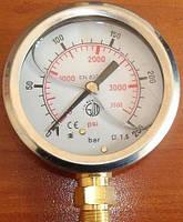 Глицериновый манометр 25 БАР 910025