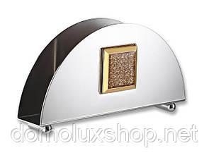 HISAR Mercury Gold підставка для серветок (40146)