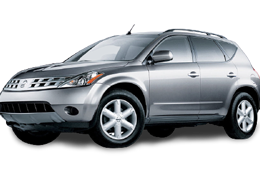 Багажник на крышу для Nissan (Ниссан) Murano 1 (Z50) 2002-2007