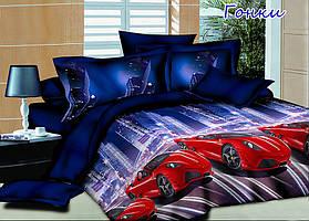Комплект постельного белья Гонки